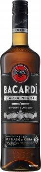 Ром Bacardi Carta Negra 4 года выдержки 1 л 40% (5010677035811)