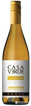 Вино Casa Verde Chardonnay белое сухое 0.75 л 13% (7808765712557)