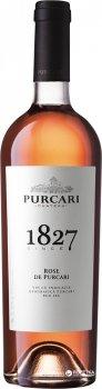Вино Purcari Розе рожеве сухе 0.75 л 13.50% (4840472012721)