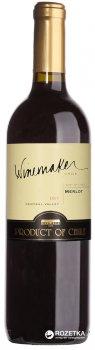 Вино Winemaker Merlot красное сухое 0.75 л 13% (7808765713189)