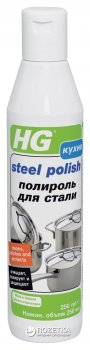 Полироль для стали HG 0.25 л (8711577093204)