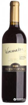 Вино Winemaker Cabernet Sauvignon/Merlоt червоне напівсолодке 0.75 л 12% (7808765712588)