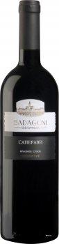Вино Бадагоні Сапераві червоне сухе 0.75 л 12% (4860006040310)