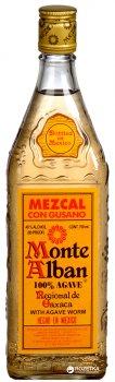 Мескаль Monte Alban 100% Агава 0.75 л 40% (80660577258)