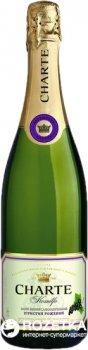 Винный напиток игристый Charte Смородина розовый полусладкий 0.75 л 6.0–8.5% (4820176060037)