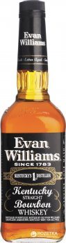 Бурбон Evan Williams Black 0.75 л 43% (96749021345)