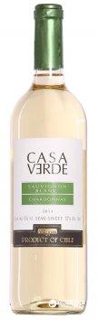 Вино Casa Verde Sauvignon Blanc/Chardonnay белое полусладкое 0.75 л 12% (7808765712526)