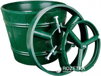 Стійка для ялинки Form-Plastic Відро 25.5 см Зелена (5907474317946)