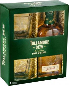 Виски Tullamore Dew Original 5 лет выдержки 0.7 л 40% + 2 стакана (5011026108903)
