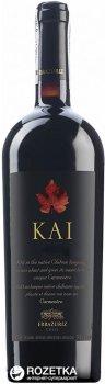 Вино Errazuriz KAI красное сухое 0.75 л 14.5% (7804304000857)
