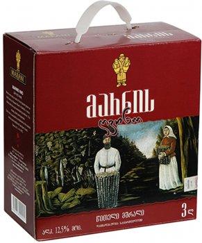 Вино Марани Марнис красное сухое 3 л 12.5% (4867616090025)