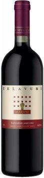 Вино Марани Телавурі червоне напівсолодке 0.75 л 11.5% (4867616060424)