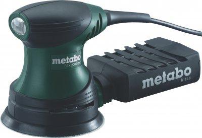 Эксцентриковая шлифовальная машина Metabo FSX 200 Intec 240 Вт (609225500)