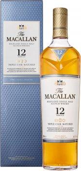 Виски The Macallan Triple Cask 12 YO 0.7 л 40% (5010314048907)