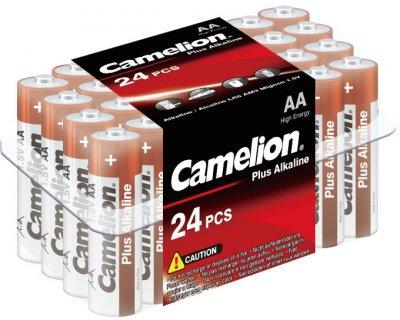Батарейки Camelion Plus Alkaline AA (LR6) 24 шт (LR6-PB24)