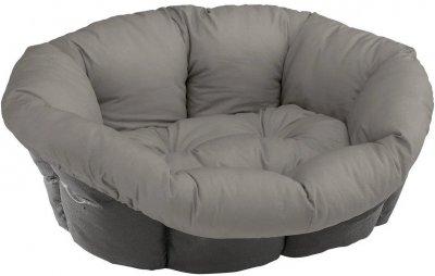 Подушка для собак і кішок Ferplast Sofa' 8 85x62x28.5 см для лежаків Siesta Deluxe Сіра (82033099)