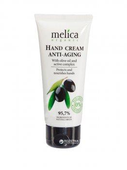 Омолаживающий крем для рук Melica Organic с оливковым маслом и активными компонентами 100 мл (4770416342204)