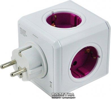 Мережевий розгалужувач Allocacoc Powercube Rewirable з заземленням 5 розеток (1800/DERW4P)