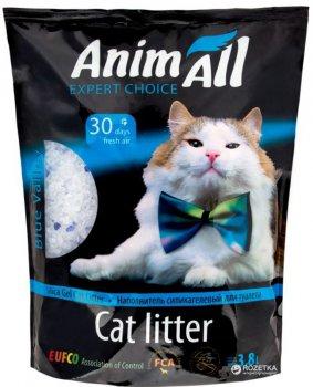 Наполнитель для кошачьего туалета AnimAll Голубая долина Силикагелевый впитывающий 1.6 кг (3.8 л) (2000981033446)