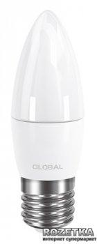Світлодіодна лампа Global C37 CL-F 5W 3000К 220V E27 AP (1-GBL-131)