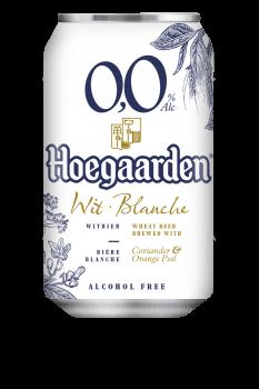 Упаковка пива HoeGaarden Witbier NA Безалкогольне 0.33 л x 24 шт ((5410228202929)