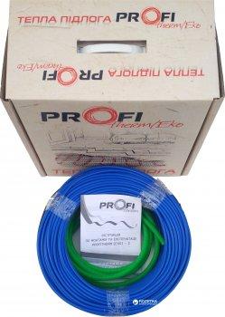 Тепла підлога ProfiTherm Eko 2 двожильний кабель 2025 Вт 122 м (70208626)