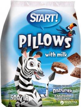 Сухой завтрак Start с молочной начинкой 500 г (4820008120854)