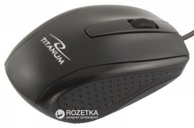 Миша Esperanza Titanum TM110K USB Black