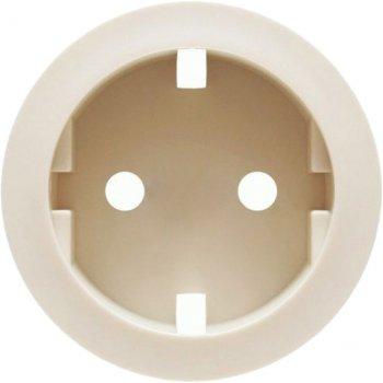 Лицевая панель для розетки Legrand Celiane Кремовая (66227)