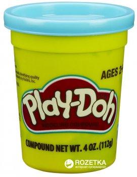 Пластилин в баночке Hasbro Play-Doh 112 г B6756 Голубой