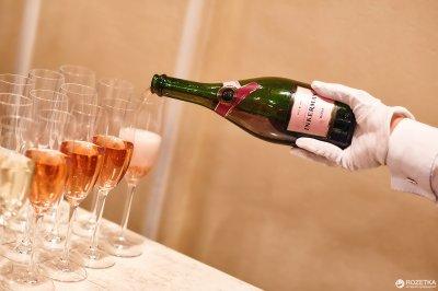 Вино ігристе Inkerman напівсолодке рожеве 0.75 л 11-13% (4820003752098)