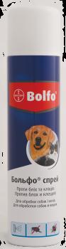 Спрей Bayer Больфо від бліх і кліщів для котів і собак 250 мл (4007221033141/4007221021346)