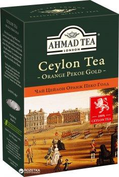 Чай листовой Ahmad Tea Оранж Пеко Голд 100 г (054881005845)