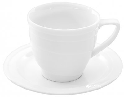 Чашка с блюдцем для кофе BergHOFF Hotel 120 мл (1690216)