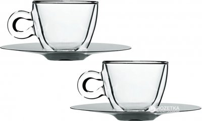 Чашки Luigi Bormioli Termic Glass 300 мл 4 предмета (10089/01)