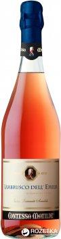Вино игристое Contessa Matilde Lambrusco Dell Emilia розовое полусладкое 0.75 л 8% (8001900663137)