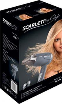 Фен SCARLETT SC-074 серый