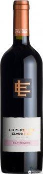 Вино Luis Felipe Edwards Carmenere красное сухое 0.75 л 13% (7804414000631)