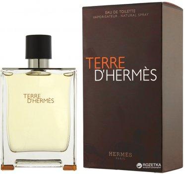 Туалетная вода для мужчин Hermes Terre d'Hermes 100 мл (3346131400003)