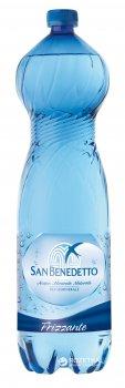 Упаковка минеральной газированной воды San Benedetto 1.5 л х 6 бутылок (8001620001905)