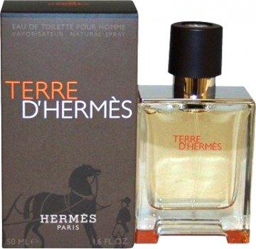 Туалетная вода для мужчин Hermes Terre d'Hermes 50 мл (3346131400041)