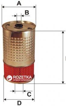Фильтрующий элемент масляного фильтра WIX Filters WL7004 - FN OC602