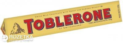 Шоколад Toblerone Молочный 100 г (7614500010013)