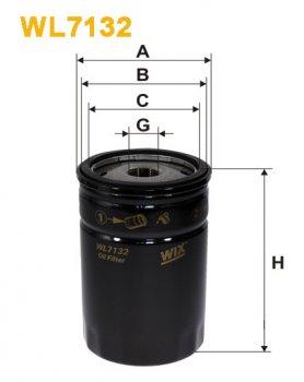 Фильтр масляный WIX WL7132 - FN OP573