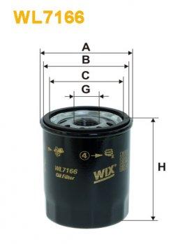 Фильтр масляный WIX WL7166 - FN OP612