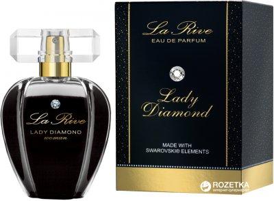Парфюмированная вода для женщин La Rive Lady Diamond Swarovski 75 мл (5906735231335)