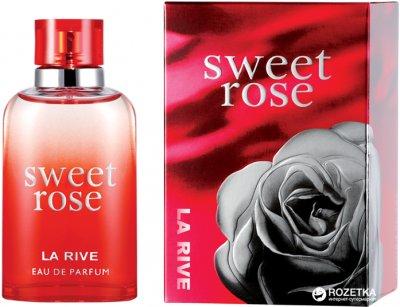 Парфюмированная вода для женщин La Rive Sweet Rose 90 мл (5906735232103)