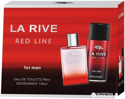 Набор для мужчин La Rive Red Line туалетная вода 90 мл + дезодорант 150 мл (5906735237153)