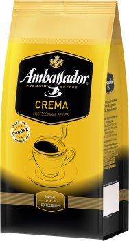 Кава в зернах Ambassador Crema 1 кг (4051146000986)