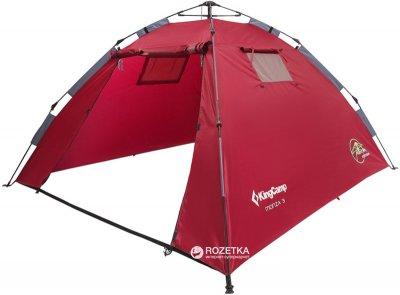 Намет KingCamp Monza 3 (KT3094 Dark red)